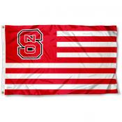 North Carolina State Striped Flag