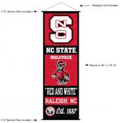 North Carolina State University Decor and Banner