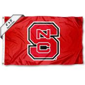 North Carolina State University Large 4x6 Flag