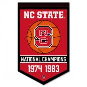 North Carolina State Wolfpack Basketball National Champions Banner
