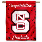 North Carolina State Wolfpack Congratulations Graduate Flag