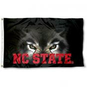 North Carolina State Wolfpack Eye Flag