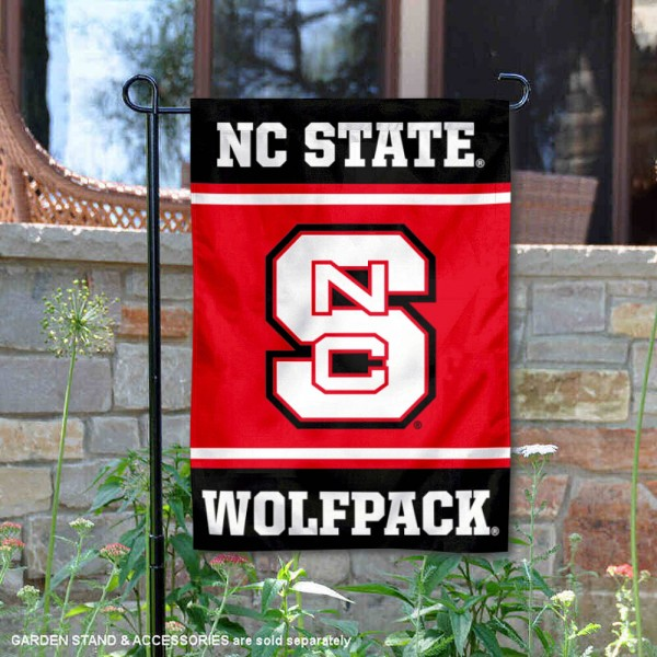 North Carolina State Wolfpack Garden Flag is 13x18 inches in size, is made of 2-layer polyester, screen printed logos and lettering. Available with Same Day Express Shipping, Our North Carolina State Wolfpack Garden Flag is officially licensed and approved by the NCAA.