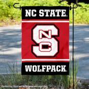 North Carolina State Wolfpack Garden Flag