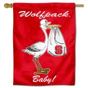 North Carolina State Wolfpack New Baby Flag