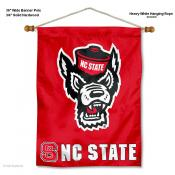 North Carolina State Wolfpack Wall Banner