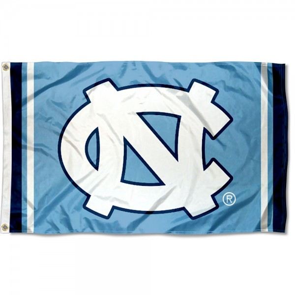 North Carolina Tar Heels Court Stripes Flag is made of 100% nylon, offers quad stitched flyends, measures 3x5 feet, has two metal grommets, and is viewable from both side with the opposite side being a reverse image. Our North Carolina Tar Heels Court Stripes Flag is officially licensed by the selected college and NCAA