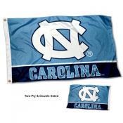 North Carolina Tar Heels Double Sided Flag