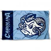 North Carolina Tar Heels Mascot Flag
