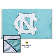 North Carolina Tar Heels Nylon Embroidered Flag