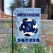 North Carolina Tar Heels Soccer Yard Flag