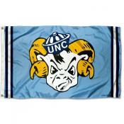 North Carolina Tar Heels Throwback Vault Logo Flag