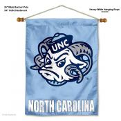 North Carolina Tar Heels Wall Banner
