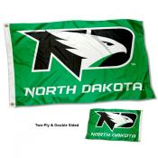 North Dakota Fighting Hawks Double Sided Flag