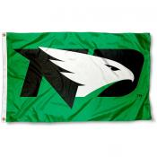 North Dakota Fighting Hawks New Logo Flag