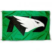 North Dakota Fighting Hawks New Logo Flag