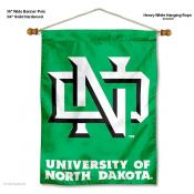 North Dakota Fighting Hawks Wall Banner