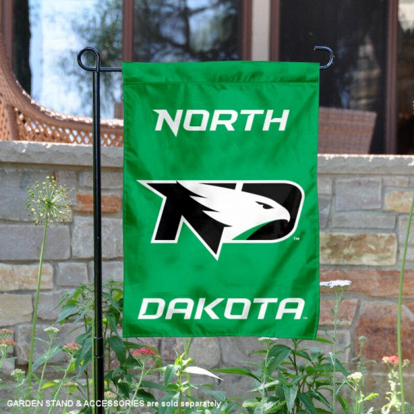 North Dakota Fighting Hawks Wordmark Logo Garden Flag is 13x18 inches in size, is made of 2-layer polyester, screen printed university athletic logos and lettering, and is readable and viewable correctly on both sides. Available same day shipping, our North Dakota Fighting Hawks Wordmark Logo Garden Flag is officially licensed and approved by the university and the NCAA.