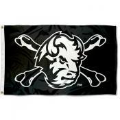 North Dakota State Bison Cross Bones Flag
