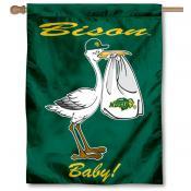 North Dakota State Bison New Baby Flag