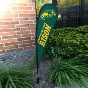 North Dakota State Bison Small Feather Flag