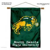 North Dakota State Bison Wall Banner