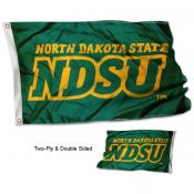 North Dakota State NDSU Double Sided 3x5 Flag
