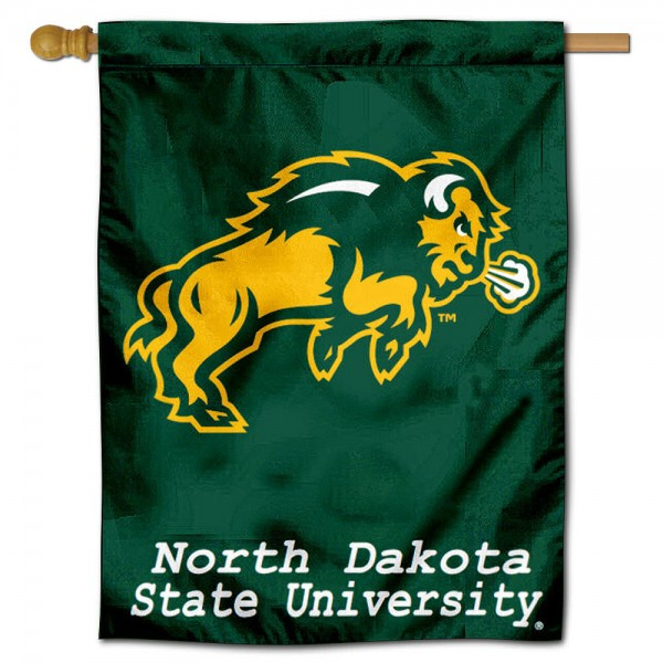 North Dakota State University House Flag