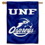 North Florida Ospreys Logo Double Sided House Flag