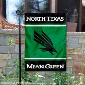 North Texas Mean Green Garden Flag