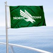 North Texas Mean Green Golf Cart Flag
