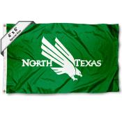 North Texas Mean Green Large 4x6 Flag