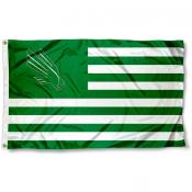 North Texas Mean Green Stripes Flag