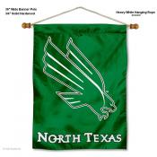North Texas Mean Green Wall Banner