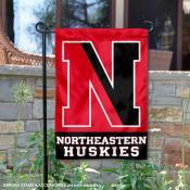 Northeastern Huskies Garden Flag