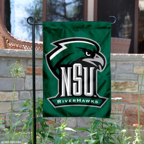 Northeastern State University Garden Flag is 13x18 inches in size, is made of 2-layer polyester, screen printed university athletic logos and lettering, and is readable and viewable correctly on both sides. Available same day shipping, our Northeastern State University Garden Flag is officially licensed and approved by the university and the NCAA.