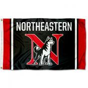 Northeastern University New N Logo Flag