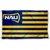 Northern Arizona Lumberjacks Stripes Flag