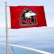 Northern Illinois Huskies Boat and Mini Flag