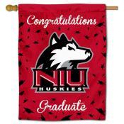 Northern Illinois Huskies Congratulations Graduate Flag