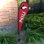Northern Illinois Huskies Small Feather Flag