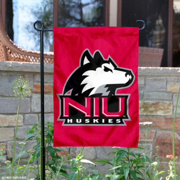 Northern Illinois University Garden Flag is 13x18 inches in size, is made of 2-layer polyester, screen printed Northern Illinois University athletic logos and lettering. Available with Same Day Express Shipping, Our Northern Illinois University Garden Flag is officially licensed and approved by Northern Illinois University and the NCAA.