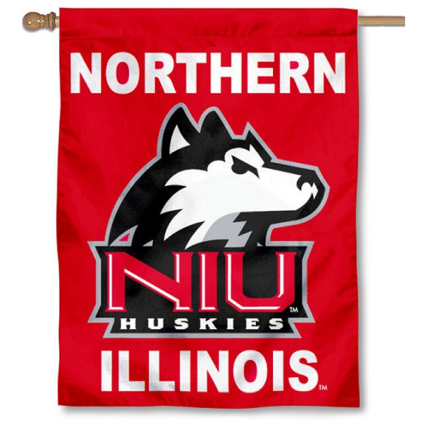 Northern Illinois University House Flag is a vertical house flag which measures 30x40 inches, is made of 2 ply 100% polyester, offers dye sublimated NCAA team insignias, and has a top pole sleeve to hang vertically. Our Northern Illinois University House Flag is officially licensed by the selected university and the NCAA