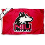 Northern Illinois University Large 4x6 Flag