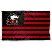 Northern Illinois University Stripes Flag