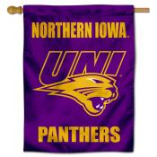 Northern Iowa Panthers Double Sided House Flag