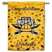 Northern Kentucky Norse Congratulations Graduate Flag