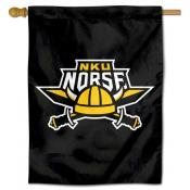 Northern Kentucky Norse Logo Double Sided House Flag