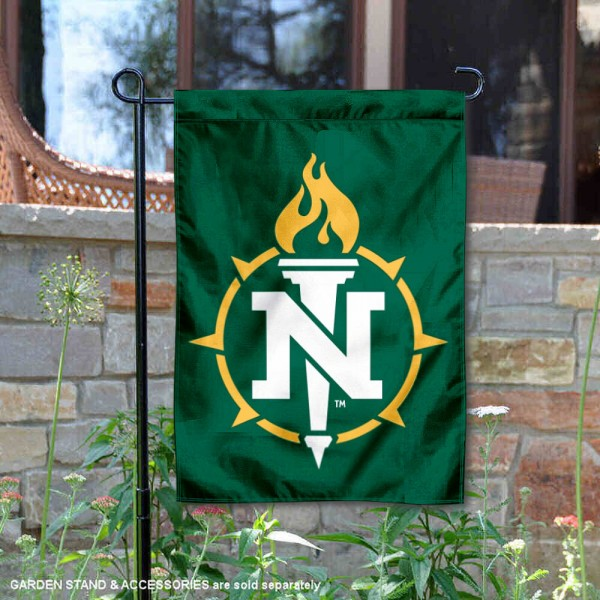 Northern Michigan Wildcats Academic Logo Garden Flag is 13x18 inches in size, is made of 2-layer polyester, screen printed university athletic logos and lettering, and is readable and viewable correctly on both sides. Available same day shipping, our Northern Michigan Wildcats Academic Logo Garden Flag is officially licensed and approved by the university and the NCAA.
