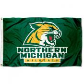 Northern Michigan Wildcats Flag